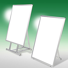 LEDパネル ラクライト 一体型のポスタースタンドです。ハイタイプとロータイプをご用意しております。