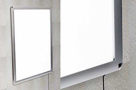 壁面固定のイメージです。