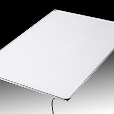 LEDパネル(導光板)とACアダプターのみのセット販売です。