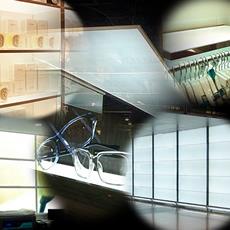 LEDパネルの活用イメージです。天井、壁、床、パーティション、商品展示台 ── 活用シーンは今後ますます広がっていくことでしょう。