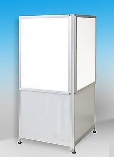 多面タワーパネル V型 LEDパネル 2面タイプ。