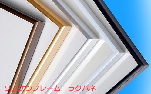 大判サイズ対応のポスターフレーム「ラクパネ」は、カラーバリエーションは全5色からお選びいただけます。