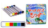 キットパス 6本入り きっず6色(6色各1本)