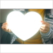 LEDパネル ラクライト [カスタムシェイプ仕様]ハート