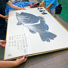 デジタル魚拓用特寸フレーム イメージ写真(2)
