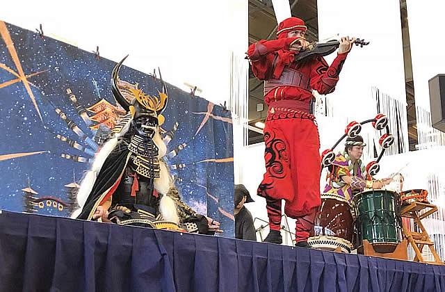 ヴァイオリン忍者 幽兵様 JapanExpoにて(1)