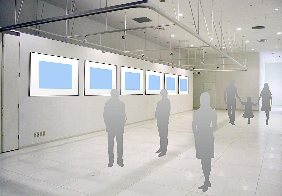 個展ギャラリーのイメージ