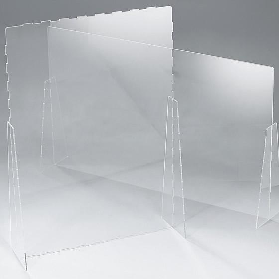 組立式アクリルスタンド《飛沫防止シールド》製品イメージ