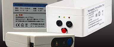 LEDパネルラクライト用リチウムイオンバッテリーのサムネイル画像です。