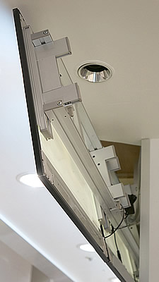 天吊り部は、グリップフレームシステムにて設計。