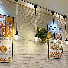 壁面のポスターはラクパネ(1)