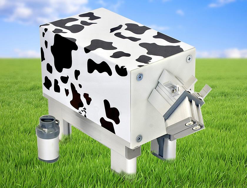 ソフケンフレームで造形した令和3年の干支、牛