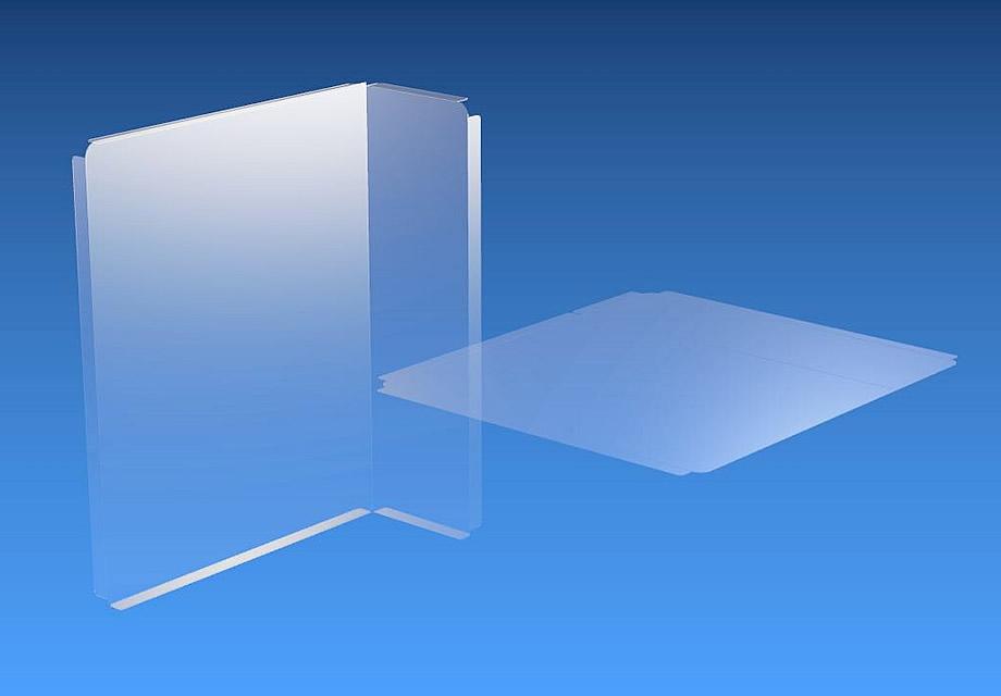 飛沫防止シート 簡易仕切りタイプ 製品イメージ