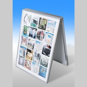ウィングセットを利用した簡易型のA式スタンドの写真です。