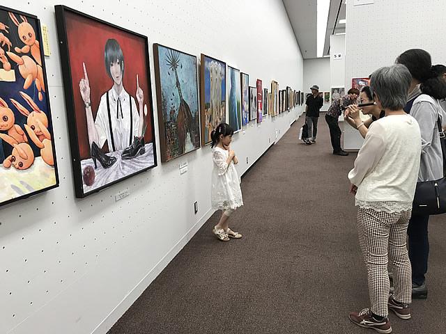 第15回 世界絵画大賞展  展覧会の様子(1)
