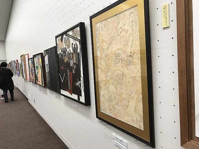 第15回 世界絵画大賞展  展覧会の様子(2)