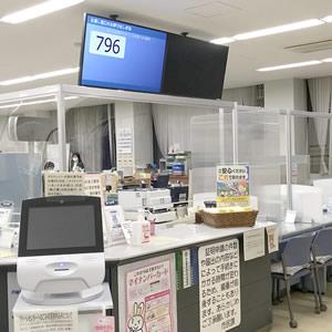 印西市役所様、総合受付カウンター対応飛沫防止パーテーション アイキャッチ画像